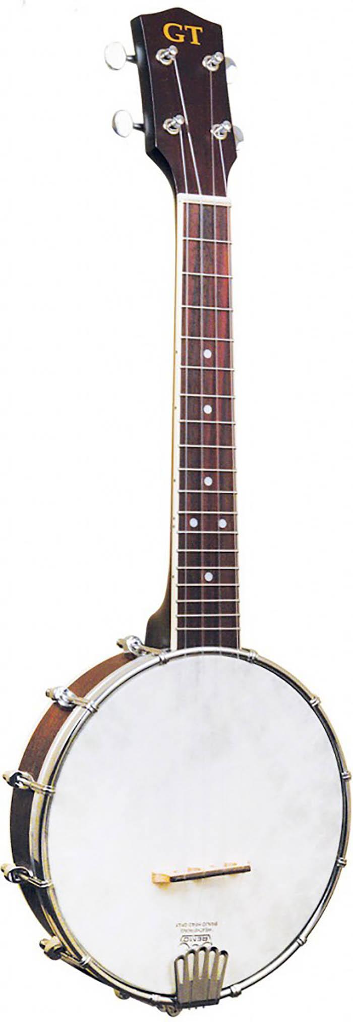 4 String Open Back Concert BanjoUkulele with Pickup and Bag