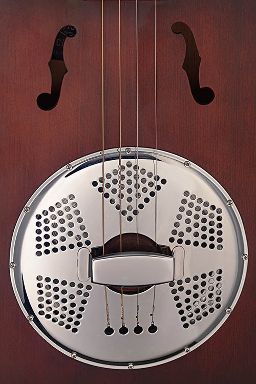 Resonator Cigar Box Guitar 4 String