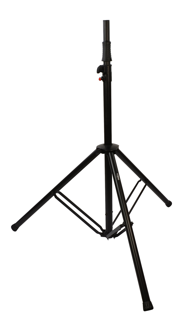 speaker stand with hydraulic lift by cobra speaker stands. Black Bedroom Furniture Sets. Home Design Ideas