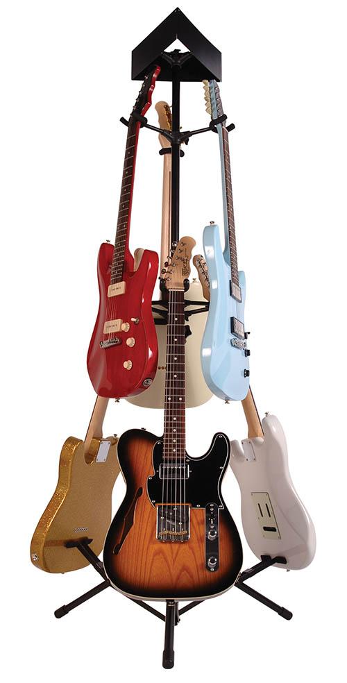 guitar stand for 6 guitars guitar stands. Black Bedroom Furniture Sets. Home Design Ideas