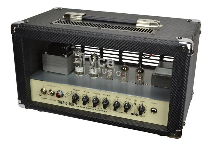 bryce music 15 watt valve head guitar amplifier ebay. Black Bedroom Furniture Sets. Home Design Ideas