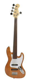 Fretless Bass Guitar 5 String By Bryce