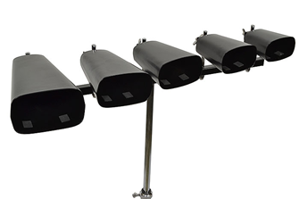 Bryce Cow Bell Set With Stand