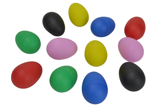 Set of Six Pairs of Sound Eggs