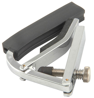 Compact Spring Lever Guitar Capo