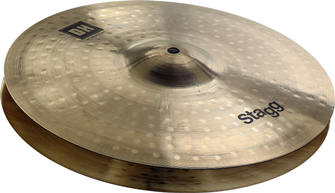 Stagg DH Rock Hi-Hat Cymbal Pair