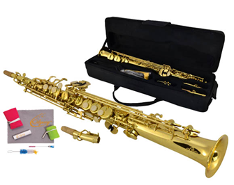 Saxophone and Bag