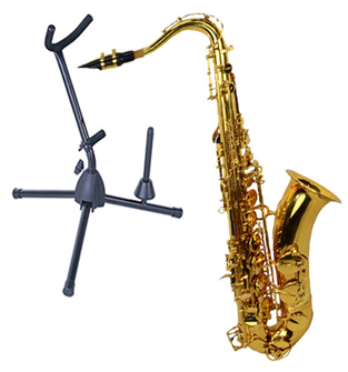 Saxophone 7 and Stand