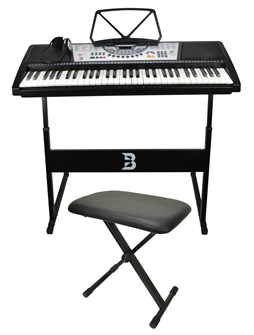 Electonic Keyboard Set Including Bench,%