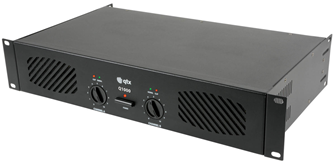 Power Amplifier 2 x 500W