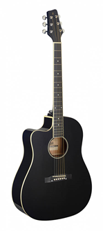 Stagg Cutaway Electric-Acoustic Guitar