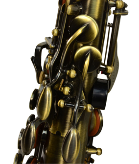 Alto Saxophone Antique Brass Finish With