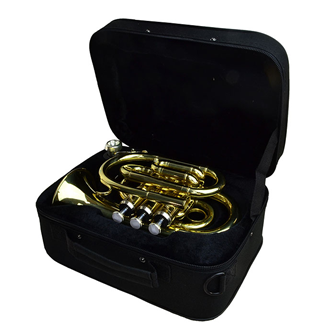 Pocket Trumpet With Padded Case