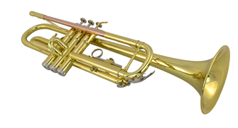 Professional Grade Bb Brass Trumpet with
