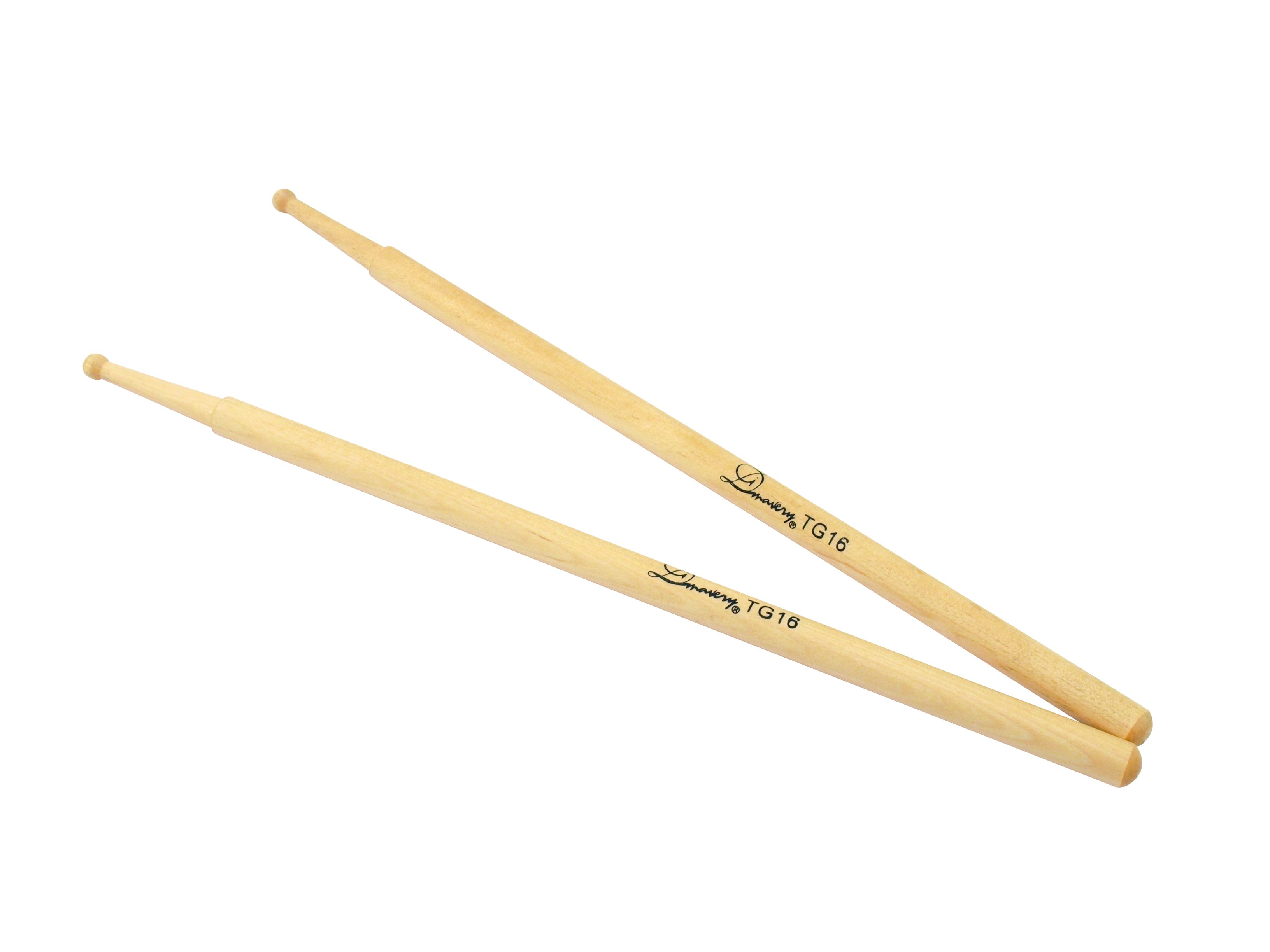 Dimavery Snare Drum Sticks Oak - Heads Sticks