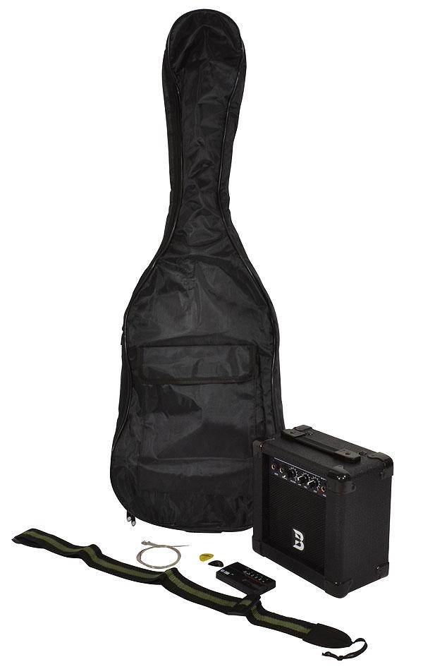 bryce electric guitar and amp set electric guitars. Black Bedroom Furniture Sets. Home Design Ideas