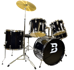 Full Size Drum Kit Black