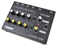 8 Channel Line Mixer