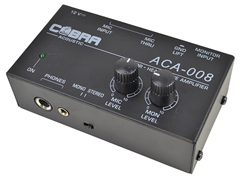 Ultra Compact Monitor Headphone Amplifier