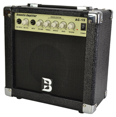 Compact 15 Watt Acoustic Guitar Amplifier by Bryce