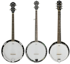 Traditional Style Banjo - 4,5 or 6%2