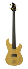 Fretless Bass Guitar 4 String By Bryce