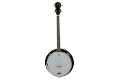 4 String Banjo With Milky Remo Head
