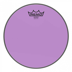Remo Emperor Colourtone Purple Drumhead