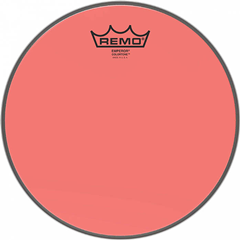 Remo Emperor Colourtone Red Drumhead