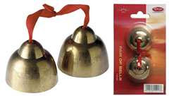 Pair of Brass Bells