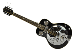 Electro-Acoustic Resonator Guitar by Bryce