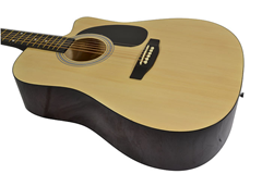 Cutaway Acoustic Guitar BFG229c and Gig%