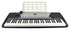 61 Key Electronic Keyboard and Microphon