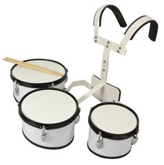Bryce 3 Piece Marching Drum Set