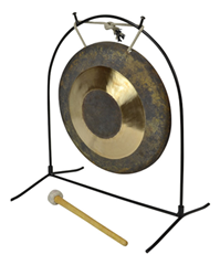 10 Chau Gong With Stand and Mallet