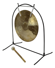 10 Wind Gong With Tabel Stand &%2