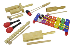 Children''s Percussion Set with 8 It