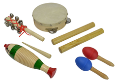Children''s Percussion Set with 5 It