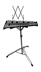 Metallophone 32 Keys with Chrome Stand%2