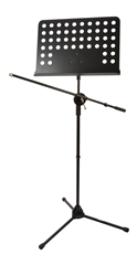 Music Stand with Boom Mic Arm