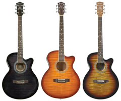 Electro-Acoustic Cutaway Guitar - Choice%2
