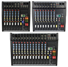 Compact Mixing Consoles with DSP