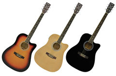 Electro-Acoustic Western Guitar - Choice%2