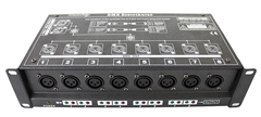 8 Way DMX Splitter and Booster by At