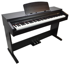 88 Key Electric Piano with Built-In Am