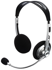 Multi-Media Headphones with Microphone
