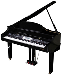 Digital Baby Grand Piano with Fatar Ke