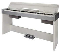 Compact Digital Piano with Cabinet