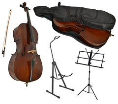 Sotendo Full Size Student Cello with S