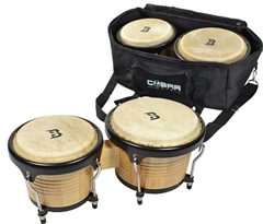 Bryce Deluxe Bongo Set with Bag